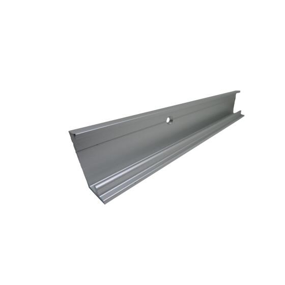 silber GU Abdeckschiene P 1602 für GU 966 200 Länge 2000 mm braun weiß
